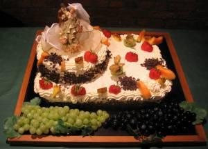 Gâteau 1 étage