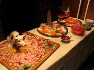 Possibilité d'ajouter un petit salade-bar
