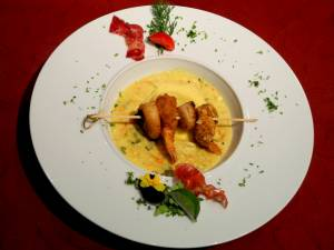 Brochette St Jacques