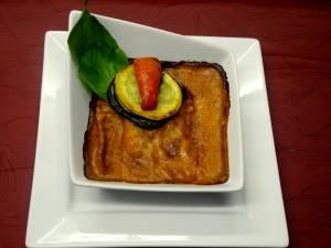 Lasagne D\'aubergine Et Raviole D\'asperge