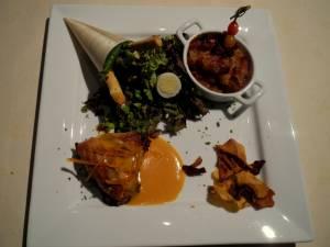 Salade Tiede De Pintadeau Pintadeau A L\'orange